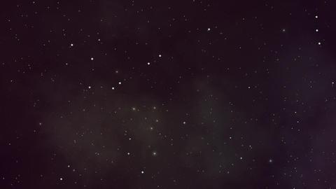 Still Twinkling Stars and Plasma Backdrop Animation