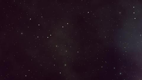 Still Twinkling Stars and Plasma Backdrop Stock Video Footage