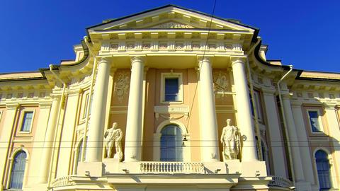 Saint-Petersburg Academy of art Stock Video Footage