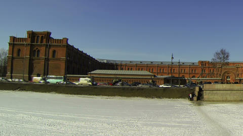 Artillery Museum in St. Petersburg Stock Video Footage