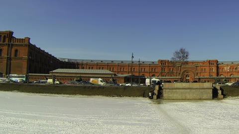 Artillery Museum in St. Petersburg Stock Video Footage