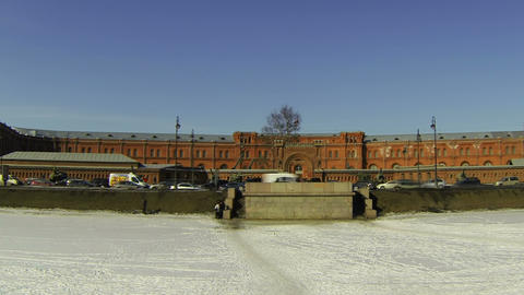 Artillery Museum in St. Petersburg Footage