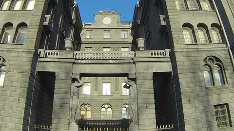 R.G.Vege's profitable house in St. Petersburg Stock Video Footage