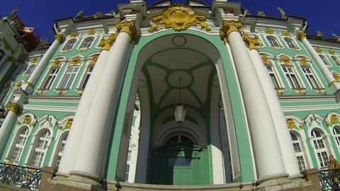 State Hermitage museum in St. Petersburg Footage