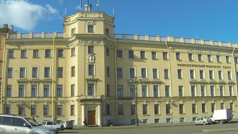 Philological faculty of the state University in St. Petersburg Footage