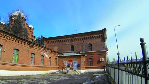 "Investigatory isolator Crosses"" in St. Petersburg"" Stock Video Footage"