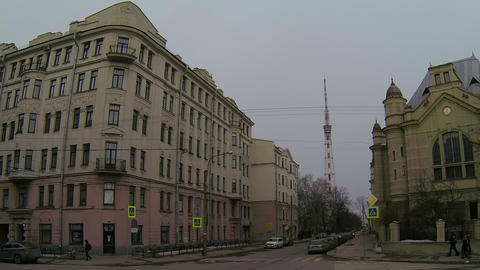 Saint-Petersburg State Electrotechnical University stock footage