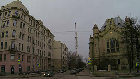 Saint-Petersburg state electrotechnical University Stock Video Footage