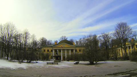 Military-medical Academy in St. Petersburg Stock Video Footage