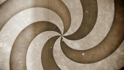 Retro hypno circle Stock Video Footage