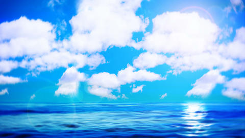 Calm ocean Stock Video Footage