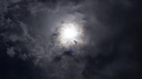 Grey clouds Footage