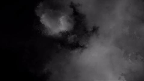 大きな雲の流れ Animation