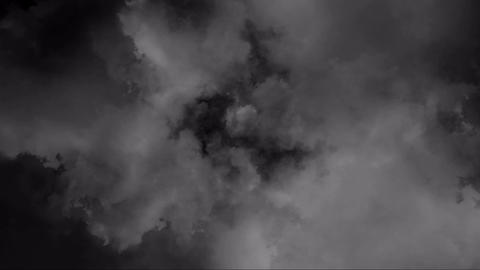 大きな雲の流れ Stock Video Footage