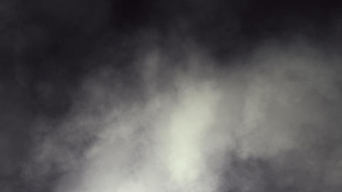 Dark Swirling Smoky Clouds Looping Animation Animation