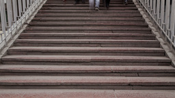 Stair, Time Lapse, Long Exposure Stock Video Footage