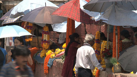 Orange flowers offers at Durbar Square Footage