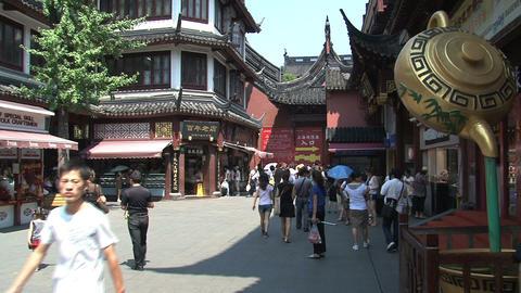 yuyuan garden street Footage