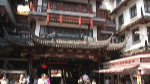 Tilt Yuyuan garden Footage