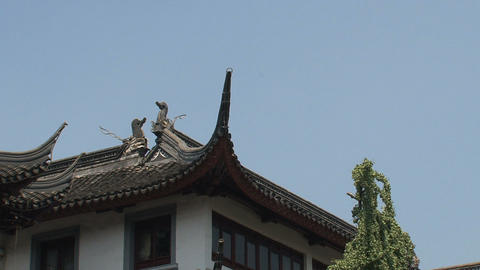 Zoom out Yuyuan garden Stock Video Footage