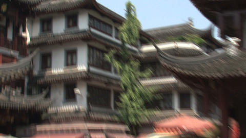 Zoom out Yuyuan garden Footage