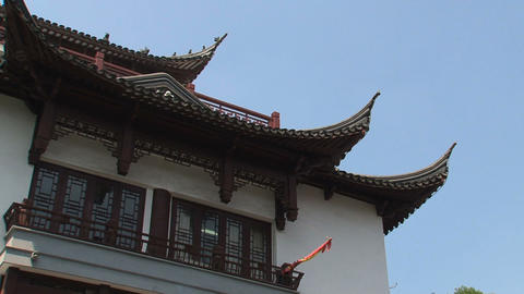 People in Yuyuan garden Stock Video Footage