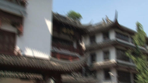 People in Yuyuan garden Footage
