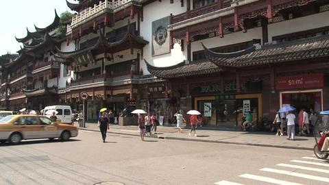 Yuyuan garden tilt Footage