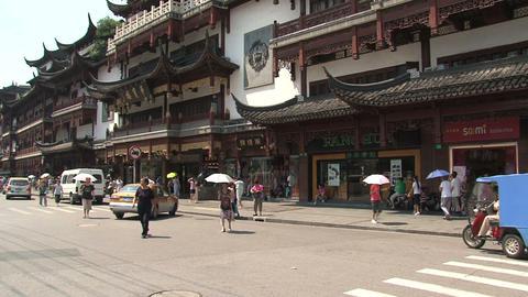 Yuyuan garden tilt Stock Video Footage