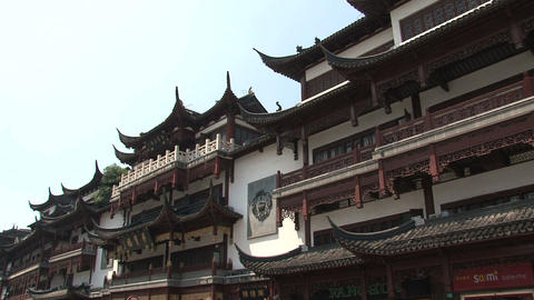 Yuyuan garden tilt Stock Video Footage