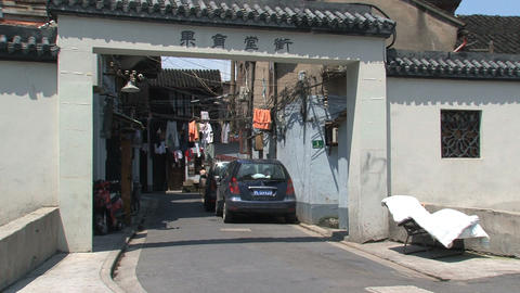 Chinese street Stock Video Footage