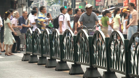 Busy traffic in Shanghai Stock Video Footage