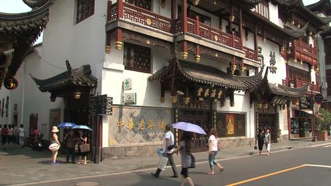 Yuyuan Garden pan Stock Video Footage