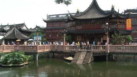 Huxinting tea house Stock Video Footage