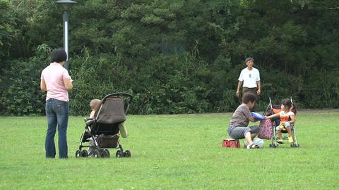 Family scene Stock Video Footage