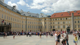 Prague castle. Prague, Czech Republic Footage