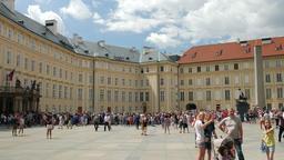 Prague castle. Prague, Czech Republic Footage