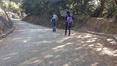 go hiking Footage
