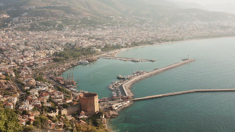 Alanya Morning Time Lapse Animation