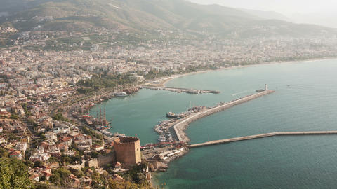 Alanya Time Lapse 4k Animation