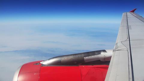 Airplane Clouds Footage