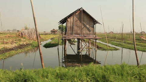 House Inle Lake Footage