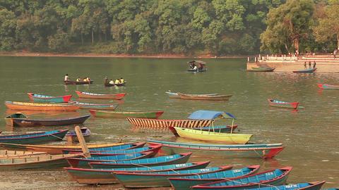 Ferry Phewa lake Footage