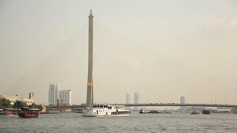 Chao Praya Boats Footage