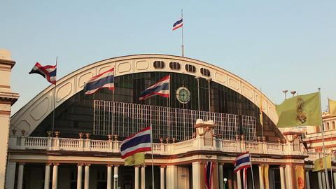 Railway Station Bangkok Live Action