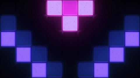 Retro Color Squares Background 0