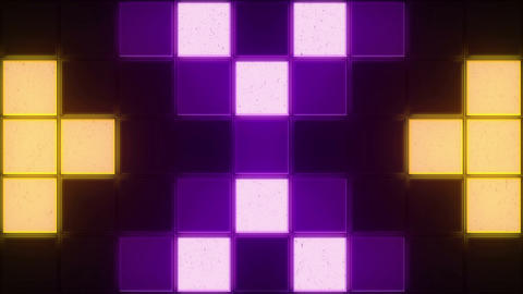 Retro Color Squares Background (2) CG動画素材