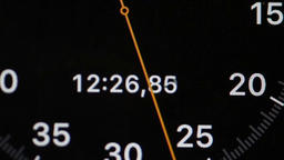 Digital stopwatch macro shot Footage