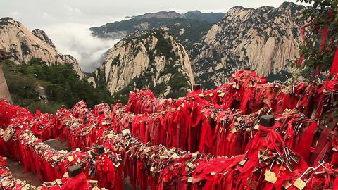 Huashan mountains, China Live Action