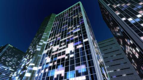 Skyscraper 2 Db1 night2 4k Animation